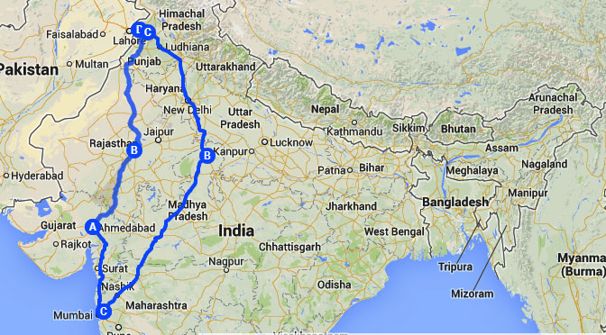 North-West India Solo Trip
